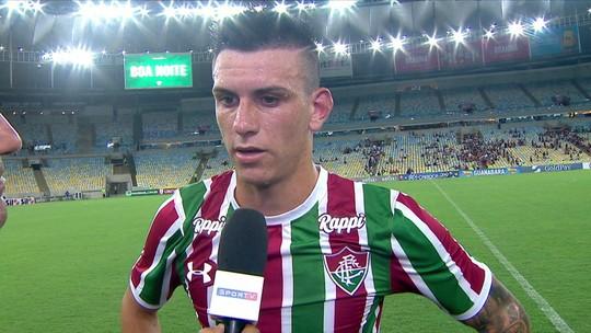 "Ibañez elogia Fernando Diniz e lamenta empate na estreia do Fluminense: ""Gosto de derrota"""