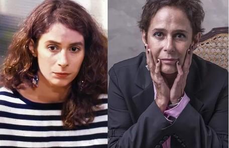 Andrea Beltrão foi a batalhadora Tônia. A atriz fará a novela das 21h 'Um lugar ao Sol' Reprodução