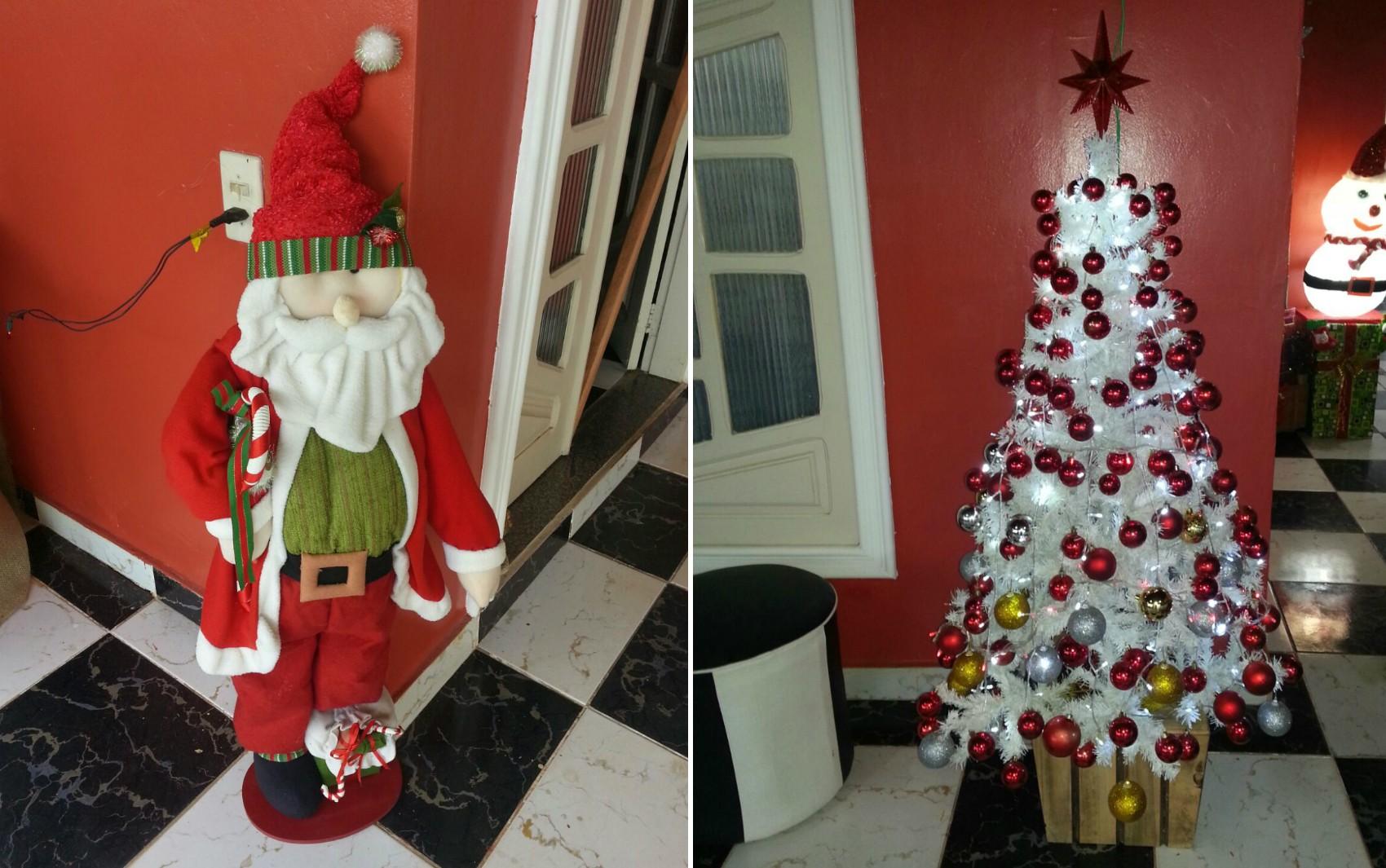 G1 quer saber como está o clima de Natal nas casas e ruas de Macapá; envie fotos