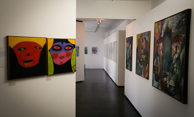 Museu de Imagens do Inconsciente exibe telas pintadas pelos internos do Hospital do Engenho de Dentro