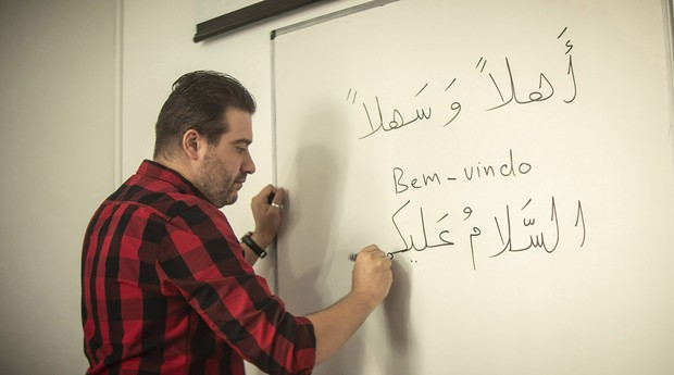 Mohamad Alsabeh (Foto: Luiz Maximiano)
