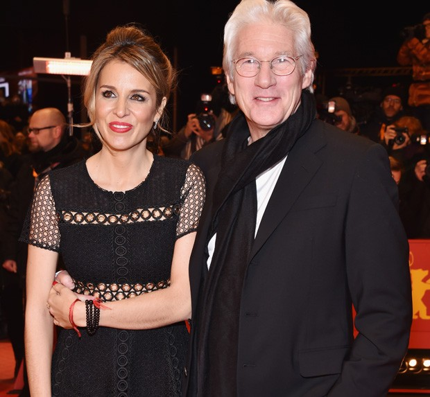 Alejandra Silva e Richard Gere (Foto: Getty Images)