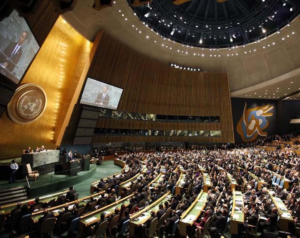 Assembleia Geral da ONU (Foto: AP )