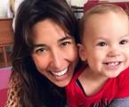 Gisele Itié e Pedro Luna, de 1 ano | Reprodução