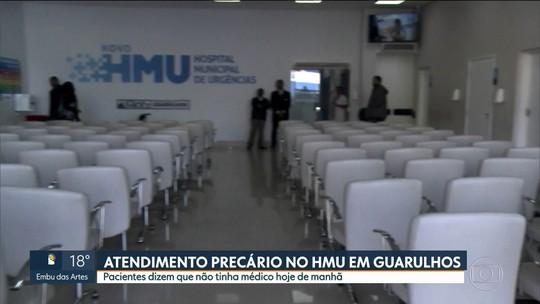 Prefeitura de Guarulhos não deposita dinheiro e hospital fica sem médico