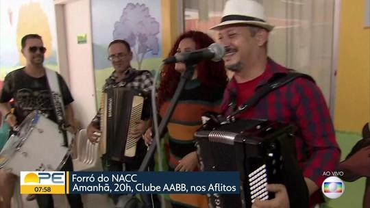Forró do NACC reúne Maestro Spok, Irah Caldeira e outros artistas em show solidário