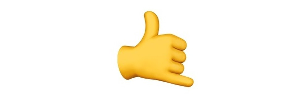 """Este emoji pode ser usado até para desejar """"boa sorte""""! — Foto: Reprodução/TechTudo"""