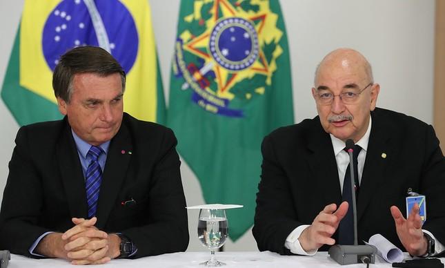Jair Bolsonaro e Osmar Terra