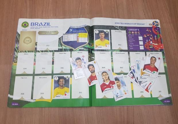Álbum da Copa do Mundo 2018 (Foto: Época NEGÓCIOS Online)