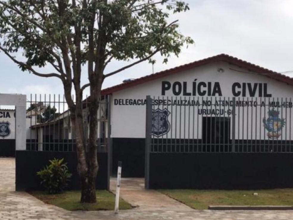 Delegacia de Uruaçu passou por reforma que foi custeada pelo próoprio delegado — Foto: Divulgação/Polícia Civil