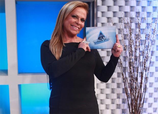Christina Rocha é a apresentadora do programa 'Casos de Família', no SBT (Foto: Divulgação)