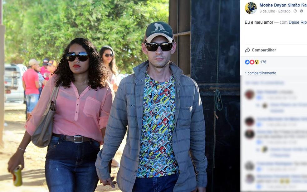 Polícia diz que encontrou indícios de que soldado da PM foi morto a tiros pela própria mulher em Peixoto de Azevedo (Foto: Facebook/Reprodução)