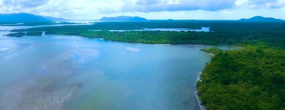 A Ilha de Superagui, em Guaraqueçaba — Foto: Acervo RTVE/Paraná Turismo
