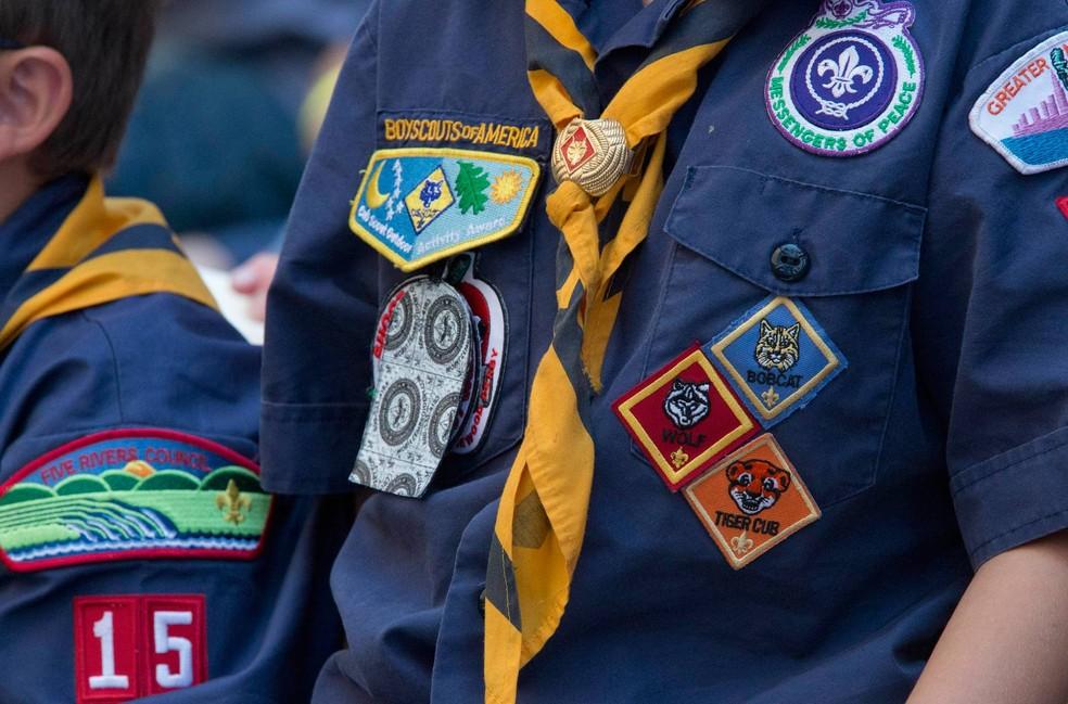 Escoteiros dos EUA em foto sem data — Foto: Mary Altaffer/AP/Arquivo