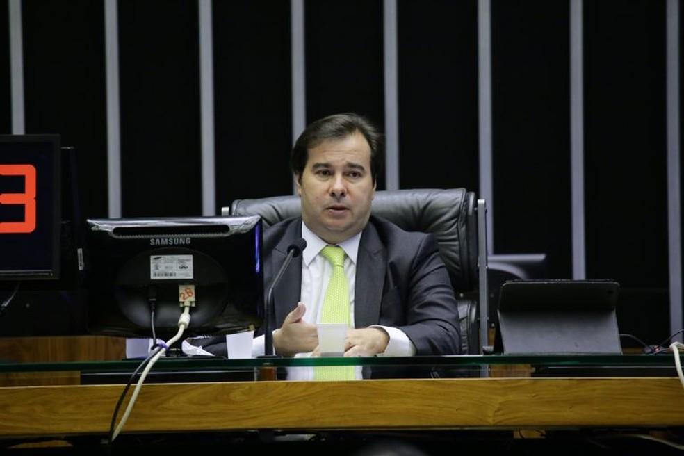 Rodrigo Maia, presidente Câmara dos Deputados — Foto: Michel Jesus/Câmara dos Deputados