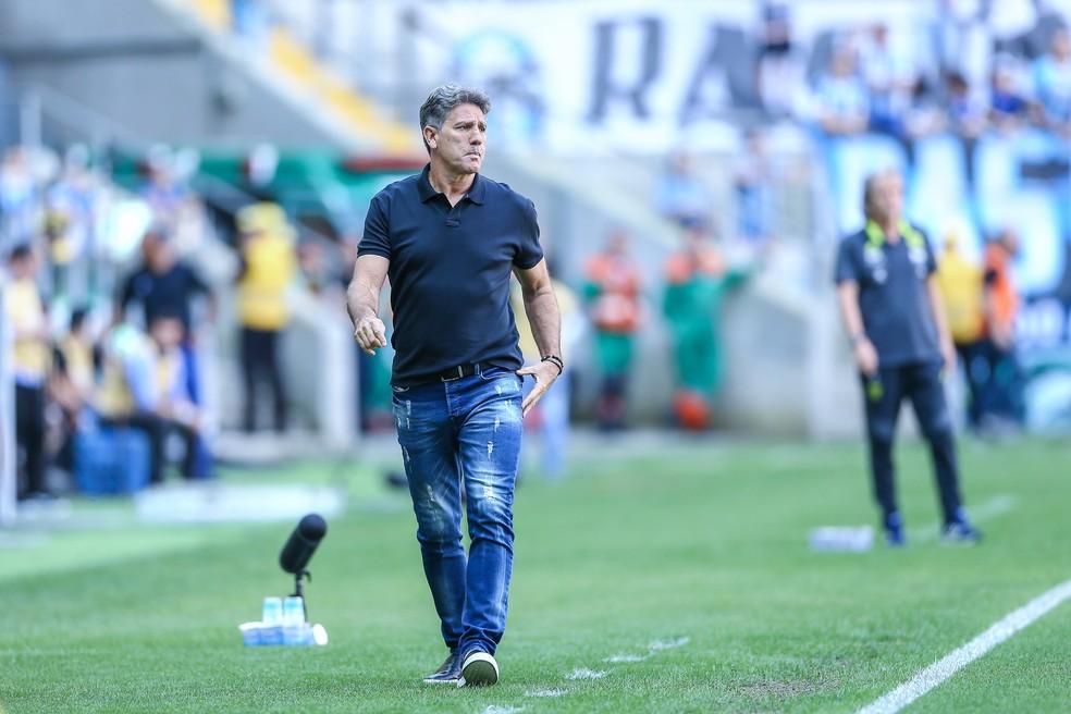 Renato deixou o futuro em aberto  — Foto: Lucas Uebel/DVG/Grêmio