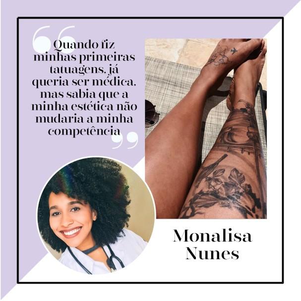Monalisa Nunes é estudante de Medicina (Foto: Arte: Victoria Polak)