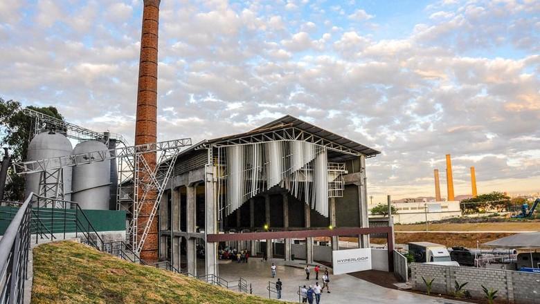 Centro de Inovação da Hyperloop TT em Contagem  (Foto: Reprodução/Facebook)