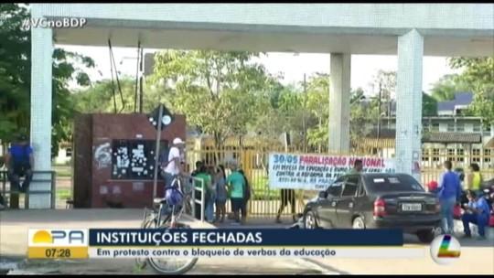 Instituições públicas de ensino do Pará paralisam as atividades nesta quinta