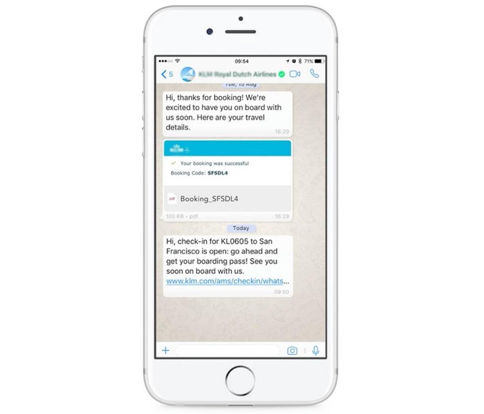 WhatsApp Business indica contas verificadas de empresas  (Foto: Reprodução/YouTube)