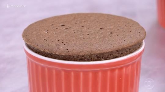 Suflê de Chocolate sem Farinha de Trigo