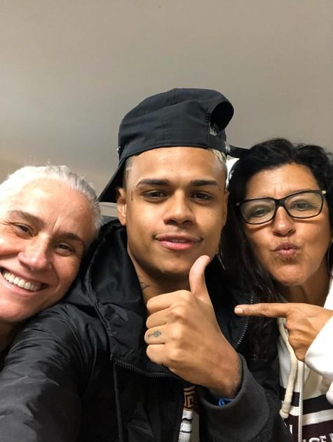 Vera Holtz, MC Cabelinho e Regina Casé (Foto: Arquivo pessoal)