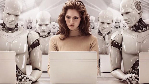 Robôs ; inteligência artificial ; robôs competem com humanos no mercado de trabalho ;  (Foto: Reprodução/LinkedIn)