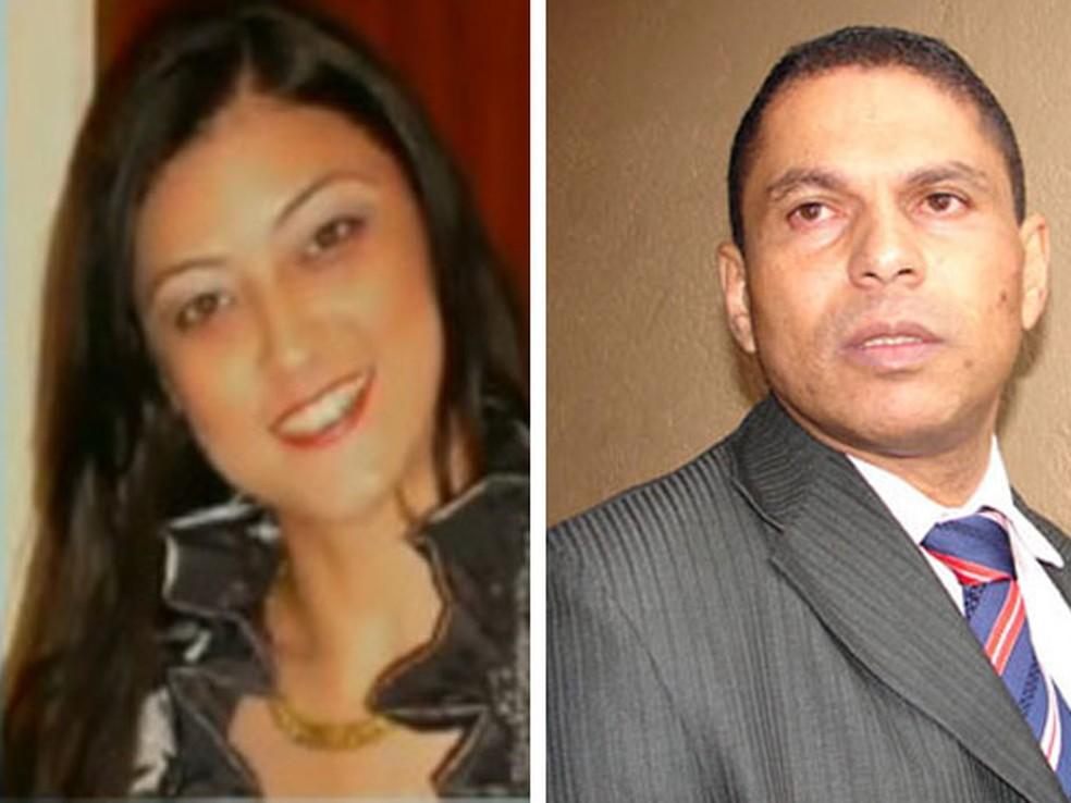 Mércia Nakashima e Mizael Souza foram namorados e ele acabou condenado pela morte dela; assassinato foi em 2010 — Foto: Arquivo/Reprodução/TV Globo/Juliana Cardilli/G1