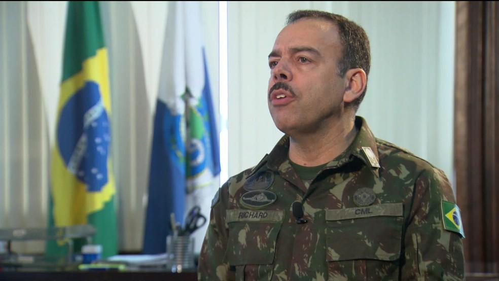 Secretário Richard Nunes dá entrevista para a GloboNews — Foto: Reprodução/GloboNews