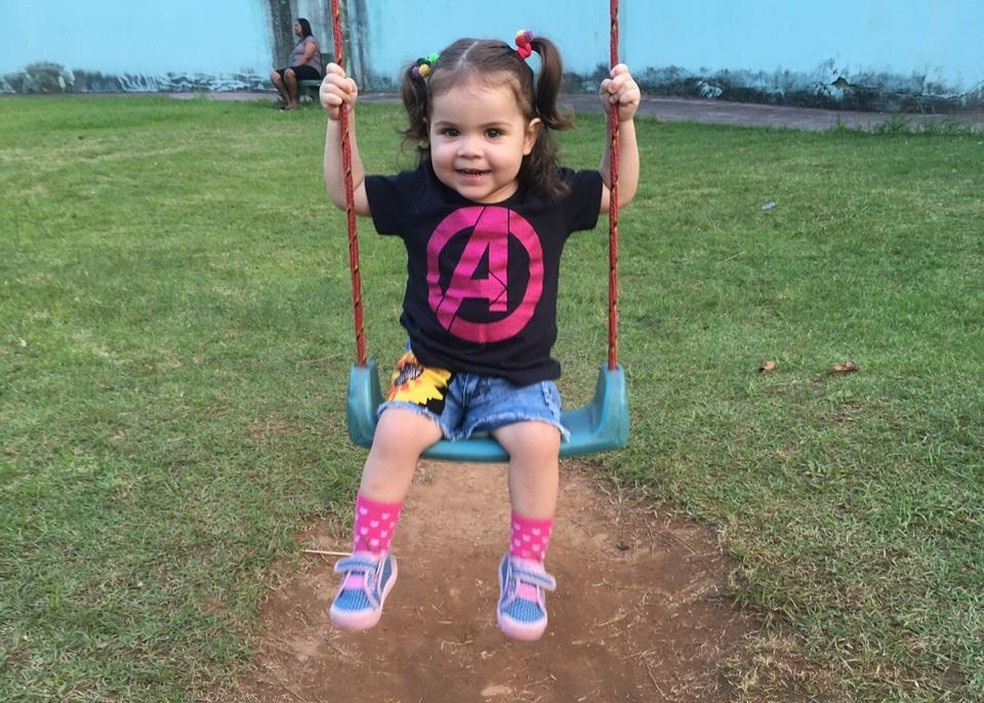 Menina nasceu em Cubatão, SP, com doença genética rara — Foto: Arquivo Pessoal