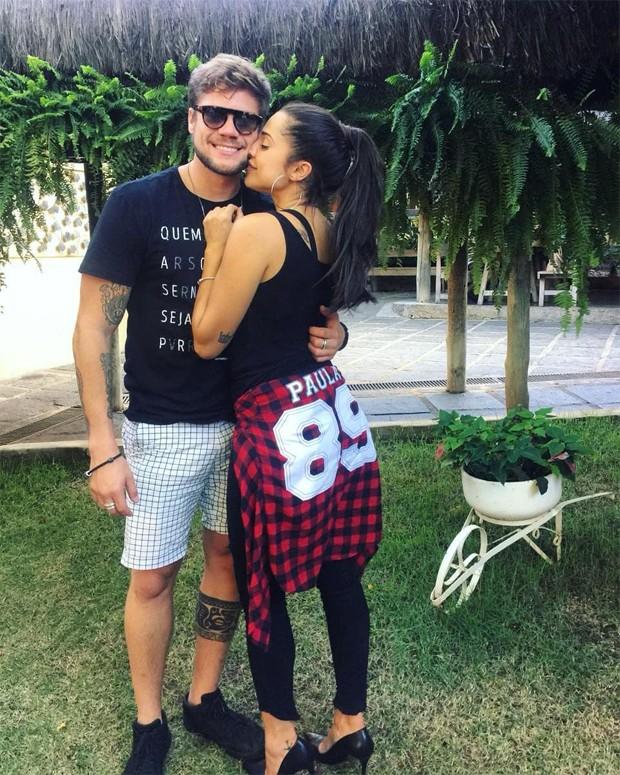 Breno Simões e Paula Amorim (Foto: Reprodução/Instagram)
