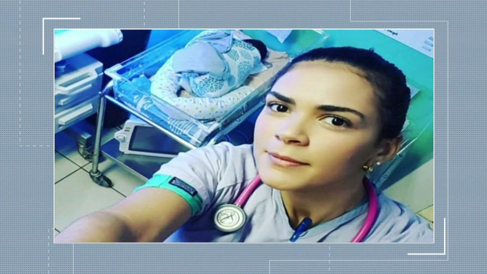 A estudante brasileira de medicina Rayneia Lima, de 30 anos, foi assassinada a tiros na Nicarágua, na segunda-feira (23) (Foto: Reprodução/TV Globo)