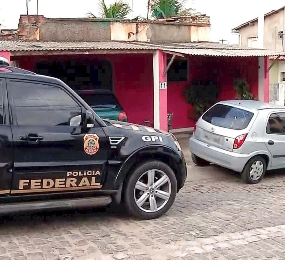 Polícia Federal faz operação em Natal (Foto: PF/Divulgação)