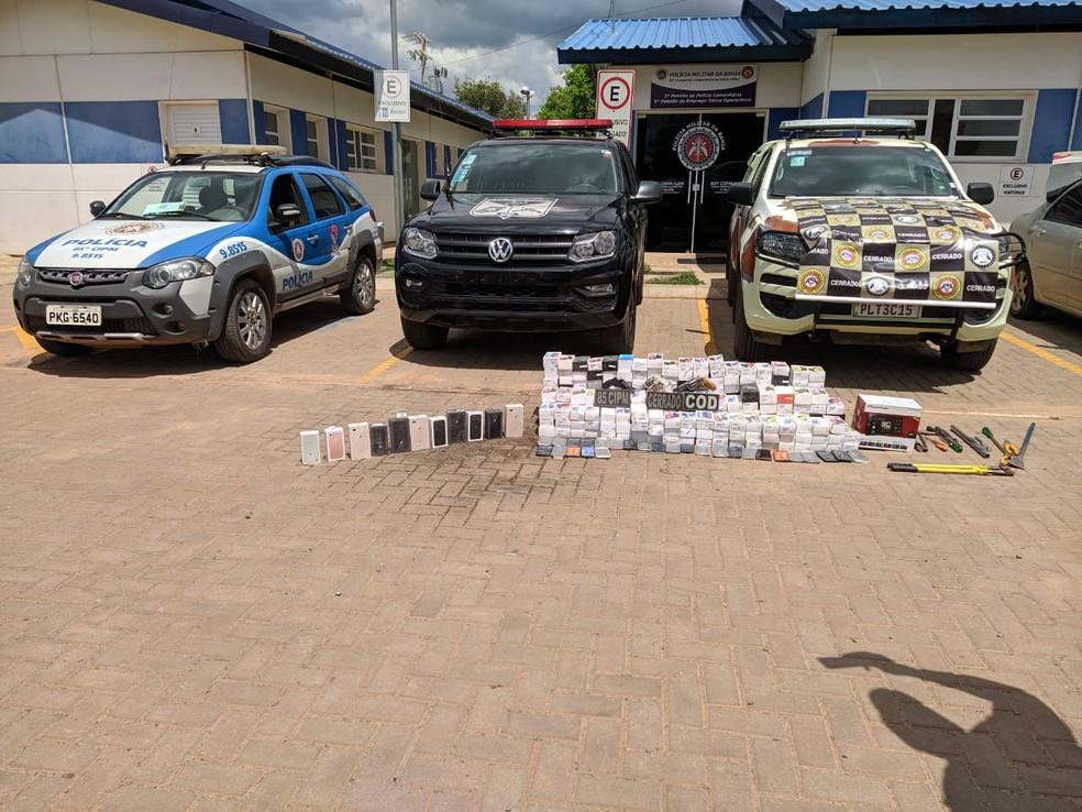 Homens suspeitos de roubar celulares em loja de eletrodomésticos morrem em confronto com policiais no oeste da Bahia  — Foto: Edivaldo Braga/Blog do Braga