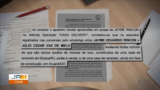 Documento detalha suspeita de que Jayme Rincón seja 'sócio-oculto' de casas de veraneio em Búzios e Arauanã
