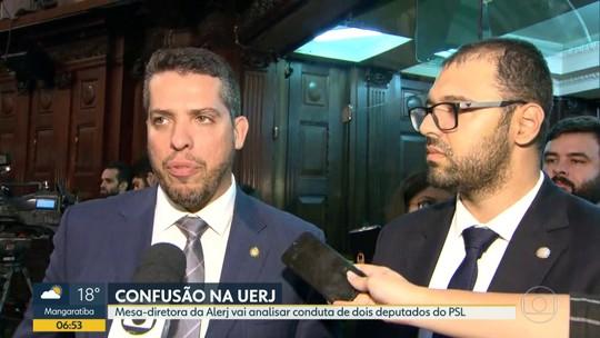 Alerj vai analisar conduta de dois deputados do PSL