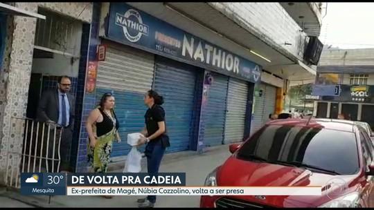 Núblia Cozzolino é presa acusada de ocultar documentos públicos da prefeitura de Magé