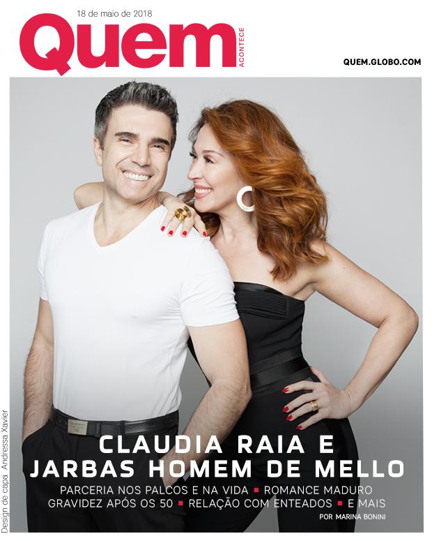 Claudia Raia e Jarbas Homem de Mello Capa (Foto: Tato Belline/ Design de capa: Andressa Xavier)