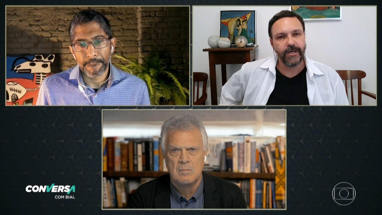 Jeferson Tenório e Paulo Scott conversam com Pedro Bial sobre suas obras literárias