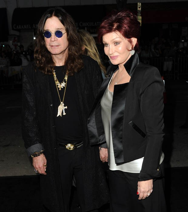 Ozzy e Sharon Osbourne (Foto: Getty Images)