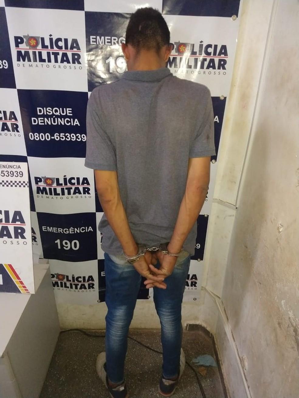 Jhon Lenon está preso desde do dia 1º de outubro — Foto: Brigida Motta/ TVCA