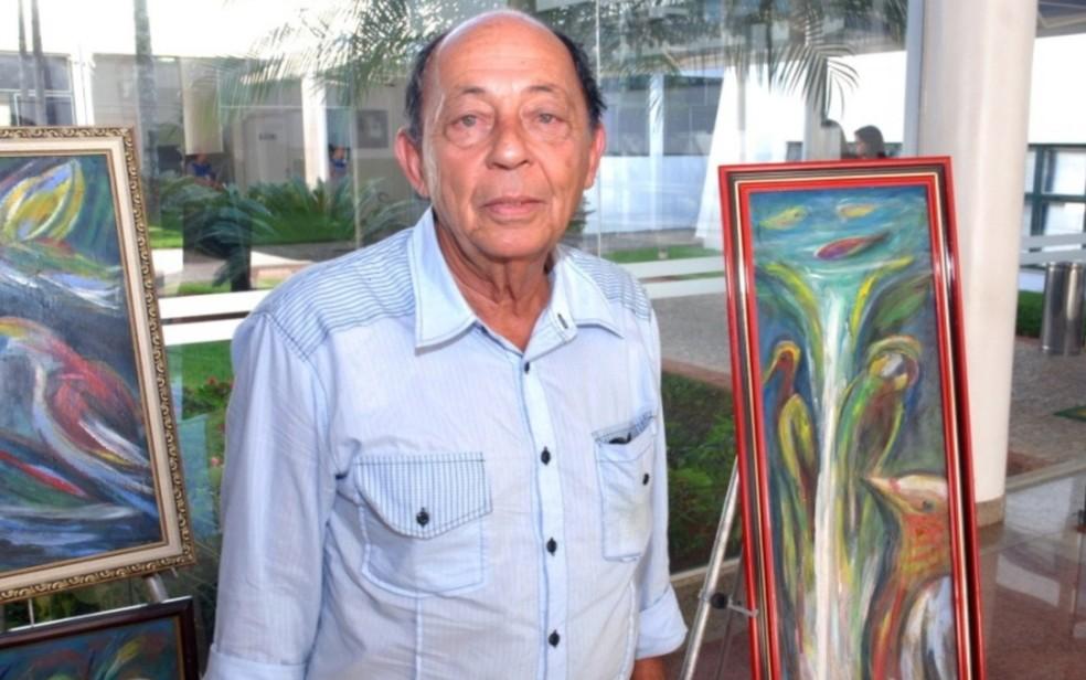 Jornalista Eduardo Ramos Jordão foi encontrado morto aos 77 anos — Foto: Reprodução/TV Anhanguera