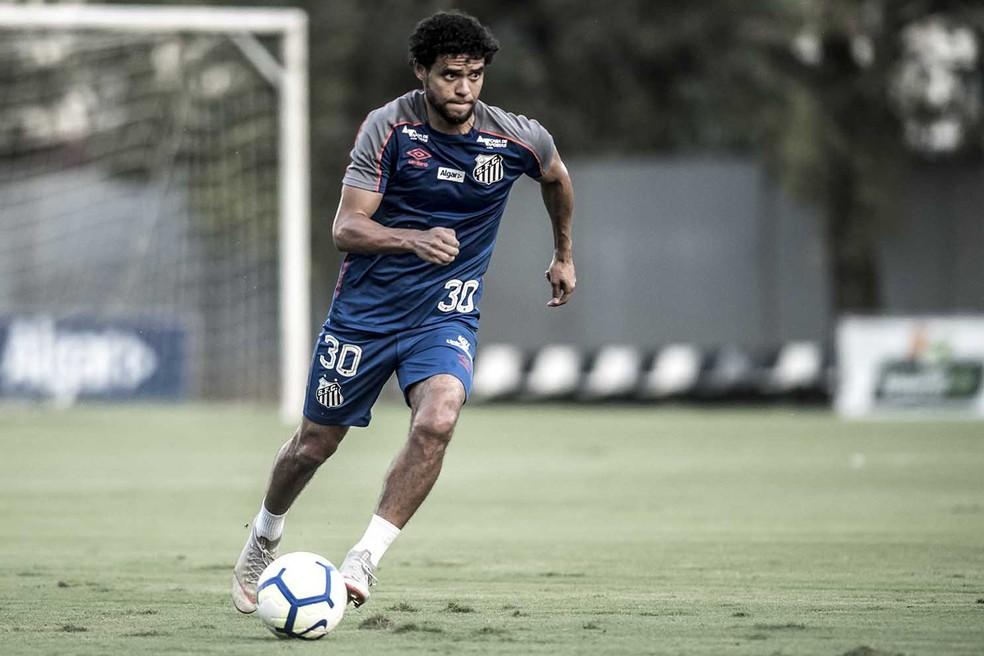 Victor Ferraz completa 32 anos em janeiro de 2020 — Foto: Ivan Storti/Santos FC