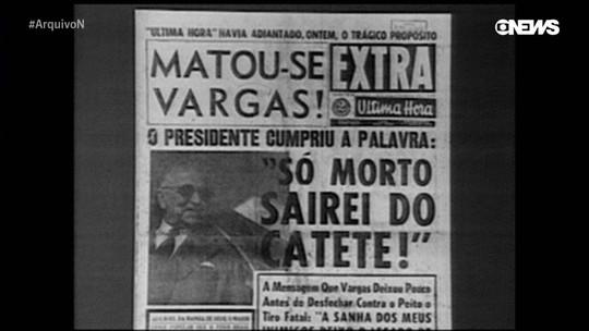 Arquivo N relembra o suicídio de Getúlio e o desfecho do governo Vargas