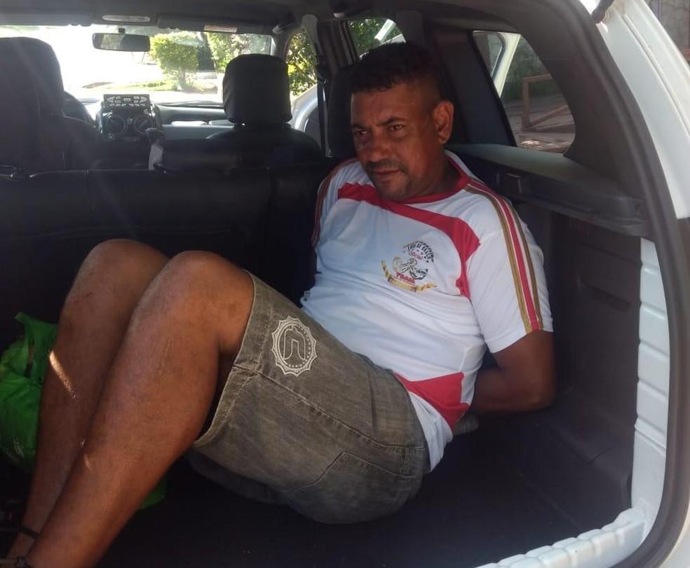Edvaldo da Silva foi preso pelo feminicídio da ex-companheira em Itupeva — Foto: Divulgação/Guarda Civil de Indaiatuba
