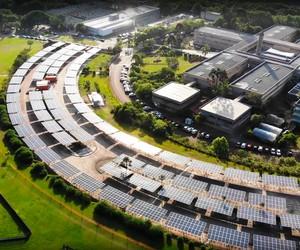 Universidade Federal do Paraná inaugura a maior usina solar do Brasil construída em estacionamento