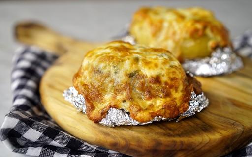 Segunda sem carne: aprenda como fazer batata recheada