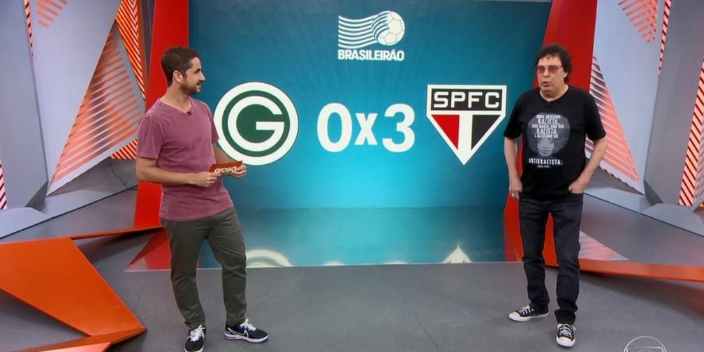 Casagrande comenta sobre a vitória do São Paulo — Foto: Reprodução