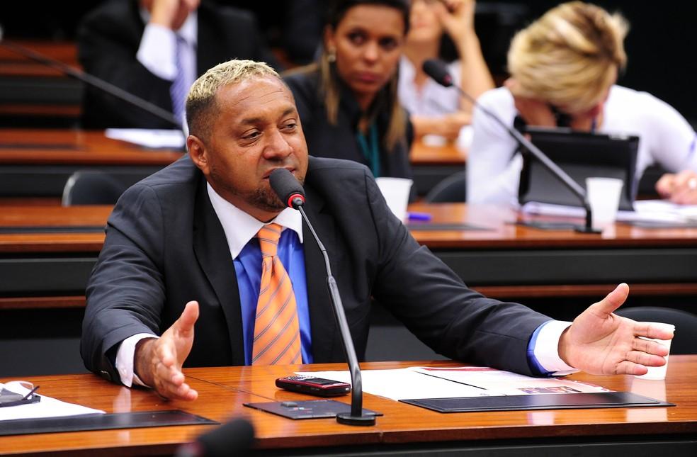O deputado federal Tiririca (PR-SP) (Foto: Alexandra Martins / Câmara dos Deputados)