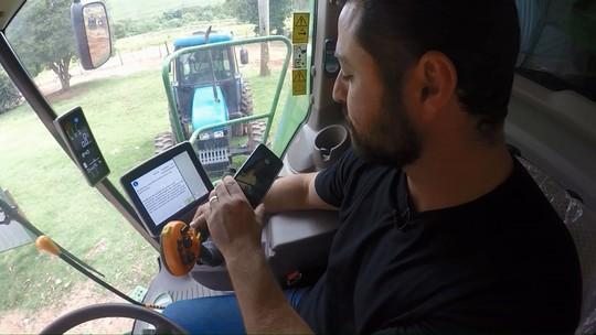 Agricultor vira youtuber e dá dicas de como mexer em máquinas agrícolas